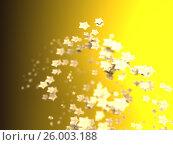 Купить «Shiny Stars Particles on smooth background», иллюстрация № 26003188 (c) Станислав Парамонов / Фотобанк Лори