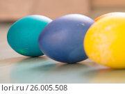 Купить «Easter eggs», фото № 26005508, снято 15 апреля 2017 г. (c) Олег Шеломенцев / Фотобанк Лори