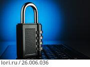 The concept of an encrypted Internet connection, фото № 26006036, снято 17 апреля 2017 г. (c) Александр Якимов / Фотобанк Лори