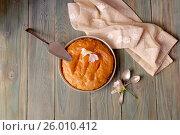 Купить «Греческий, сладкий, молочный пирог на манной крупе с лимонным сиропом (галактобуреко)», фото № 26010412, снято 1 апреля 2017 г. (c) Татьяна Ляпи / Фотобанк Лори