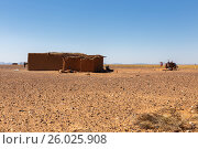 Berber house in the desert Sahara (2015 год). Стоковое фото, фотограф Михаил Пряхин / Фотобанк Лори