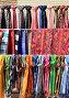 Colored knitted goods on the market, фото № 26037756, снято 22 марта 2017 г. (c) Владимир Приземлин / Фотобанк Лори