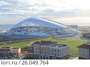Купить «Олимпийский Стадион Фишт в Сочи», фото № 26049764, снято 19 апреля 2017 г. (c) Игорь Архипов / Фотобанк Лори