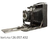 Купить «Старинный фотоаппарат «Фотокор-1»», фото № 26057432, снято 17 марта 2017 г. (c) Ельцов Владимир / Фотобанк Лори