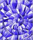 Abstract mosaic image,  tiles arranged in a spiral, blue tone, иллюстрация № 26077356 (c) Наталья Загорий / Фотобанк Лори