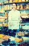 Girl in uniform selling candied fruits and nuts, фото № 26077632, снято 22 марта 2017 г. (c) Яков Филимонов / Фотобанк Лори