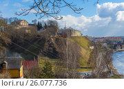 Купить «Белоруссия, город Гродно. Новый замок», фото № 26077736, снято 25 февраля 2017 г. (c) Валерий Ситников / Фотобанк Лори
