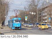 Купить «Москва, Большая Черёмушкинская улица», фото № 26094940, снято 22 марта 2017 г. (c) Павел Москаленко / Фотобанк Лори