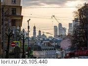 Старый центр Москвы при дневном свете. Редакционное фото, фотограф Малахов Алексей / Фотобанк Лори