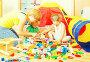 Mother and children playing, фото № 26119048, снято 2 августа 2014 г. (c) Яков Филимонов / Фотобанк Лори