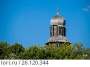 Купить «Томск. Башня острога», фото № 26120344, снято 27 августа 2016 г. (c) Павел Сапожников / Фотобанк Лори