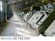 Купить «Танки вооруженных сил США в Центральном музее бронетанкового вооружения и техники, Кубинка», фото № 26142924, снято 1 сентября 2015 г. (c) Pukhov K / Фотобанк Лори