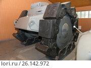 Купить «Противоминный трал Alkett VsKfz 617/NK-101 Minenräumer в Центральном музее бронетанкового вооружения и техники, Кубинка», фото № 26142972, снято 1 сентября 2015 г. (c) Pukhov K / Фотобанк Лори