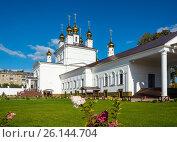Купить «Assumption Cathedral in the city of Ivanovo, Russia», фото № 26144704, снято 14 сентября 2015 г. (c) Валерий Смирнов / Фотобанк Лори