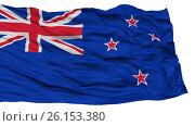 Купить «Isolated New Zealand Flag», иллюстрация № 26153380 (c) ИЛ / Фотобанк Лори