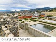 Купить «View of Rabati Castle in Akhaltsikhe, Georgia», фото № 26158240, снято 29 сентября 2016 г. (c) Elena Odareeva / Фотобанк Лори