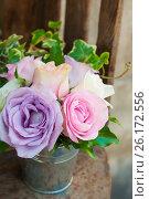 Букет из роз. Стоковое фото, фотограф Елена Поминова / Фотобанк Лори