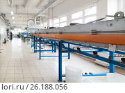 Oven for annealing wire. Стоковое фото, фотограф Андрей Радченко / Фотобанк Лори