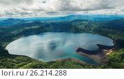 Crater Karymsky Lake. Kronotsky Nature Reserve on Kamchatka Peninsula. Редакционное фото, фотограф Zoonar/yykkaa / easy Fotostock / Фотобанк Лори