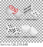 Realistic game icons, vector illustration. Стоковая иллюстрация, иллюстратор Купченко Евгений / Фотобанк Лори