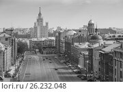 Купить «Above view from observation deck in Central Children's World on historical center of Moscow», фото № 26232048, снято 1 мая 2016 г. (c) Олег Жуков / Фотобанк Лори