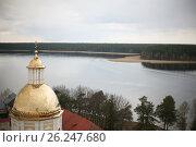 Озеро Селигер. Стоковое фото, фотограф Лилия Пономарева / Фотобанк Лори