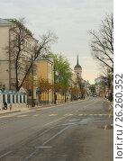 Купить «Москва. Улица Большая Ордынка», фото № 26260352, снято 6 мая 2017 г. (c) Алексей Назаров / Фотобанк Лори