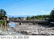 Купить «White bridge», фото № 26266800, снято 11 октября 2015 г. (c) Давидич Максим / Фотобанк Лори