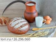 Сельская еда. Стоковое фото, фотограф Александр Палехов / Фотобанк Лори