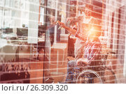 Купить «Composite image of stocks and shares», фото № 26309320, снято 13 июля 2018 г. (c) Wavebreak Media / Фотобанк Лори