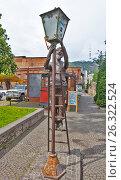 Купить «Памятник Лампионщику (Фонарщику). Тбилиси. Грузия», фото № 26322524, снято 4 мая 2017 г. (c) Сергей Афанасьев / Фотобанк Лори