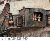 Купить «Представление миниатюрного театра в центральной части башни. Театр марионеток Резо Габриадзе, Тбилиси, Грузия», фото № 26328440, снято 4 мая 2017 г. (c) Сергей Афанасьев / Фотобанк Лори