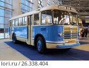 Советский автобус ЛиАЗ-158 (ЗИЛ-158В) (2016 год). Редакционное фото, фотограф Данила Васильев / Фотобанк Лори