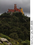 Pena Palace in Sintra, Portugal, фото № 26341684, снято 10 мая 2017 г. (c) Лиляна Виноградова / Фотобанк Лори