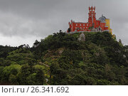 Pena Palace in Sintra, Portugal, фото № 26341692, снято 10 мая 2017 г. (c) Лиляна Виноградова / Фотобанк Лори