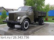 Купить «Автомобиль ГАЗ-51», фото № 26343736, снято 14 августа 2018 г. (c) Сергей Юрьев / Фотобанк Лори