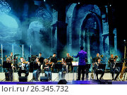 Оркестр Театра Эстрады в Екатеринбурге (2016 год). Редакционное фото, фотограф Nobilior / Фотобанк Лори