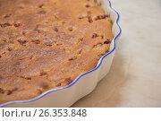 Тыквенный кекс с красной смородиной. Стоковое фото, фотограф Краснова Ирина / Фотобанк Лори