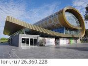 Купить «BAKU, AZERBAIJAN - MAY 2017: Museum of carpets», фото № 26360228, снято 27 апреля 2017 г. (c) Аркадий Захаров / Фотобанк Лори