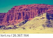 Купить «Geological formations in Ischigualasto», фото № 26367164, снято 13 февраля 2017 г. (c) Яков Филимонов / Фотобанк Лори