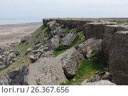 Купить «View of Gobustan from Kichikdash mountain. Azerbaijan», фото № 26367656, снято 26 апреля 2017 г. (c) Аркадий Захаров / Фотобанк Лори
