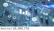 Купить «Composite image of virus background», иллюстрация № 26380716 (c) Wavebreak Media / Фотобанк Лори