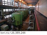 Boiler plant Parnas in St. Petersburg, Russia, фото № 26389244, снято 16 декабря 2016 г. (c) Лиляна Виноградова / Фотобанк Лори