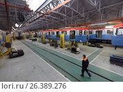 Oktyabrsky electric railway car repair plant, фото № 26389276, снято 25 августа 2016 г. (c) Лиляна Виноградова / Фотобанк Лори