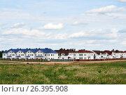 Коттеджный поселок. Стоковое фото, фотограф Никита Ковалёв / Фотобанк Лори
