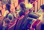 Купить «Little girl turning around from screen», фото № 26412620, снято 3 декабря 2016 г. (c) Яков Филимонов / Фотобанк Лори