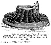 Купить «Рабочее колесо турбины Френсиса», иллюстрация № 26430232 (c) Макаров Алексей / Фотобанк Лори