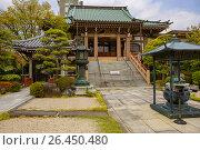 Купить «Япония. Сендай.Пагода.», фото № 26450480, снято 29 апреля 2017 г. (c) Галина Савина / Фотобанк Лори