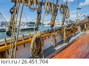 Купить «People rest on Sea Days in Tallinn», фото № 26451704, снято 16 июля 2016 г. (c) Игорь Соколов / Фотобанк Лори