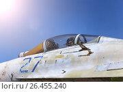 Военный аэродромом в Пушкине. Стоковое фото, фотограф Алёна / Фотобанк Лори